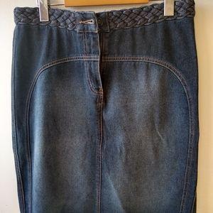 Armor jeans skirt